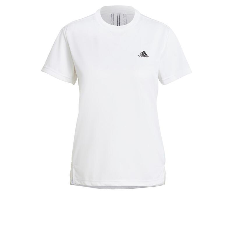 T-shirt femme adidas Aeroready Designed 2 Move 3-Bandes Sport