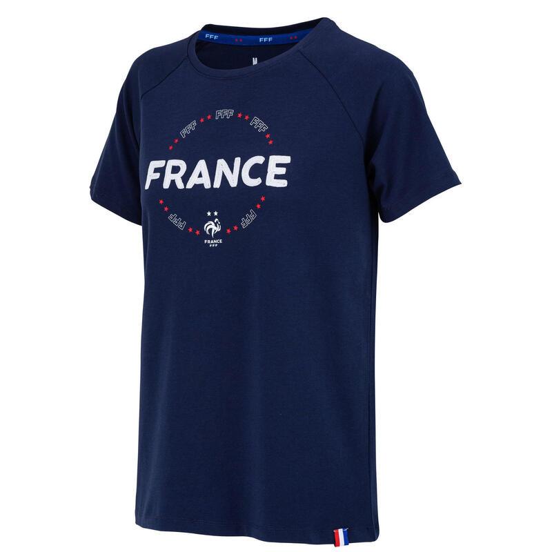 T-shirt FFF - Collection officielle EQUIPE DE FRANCE Femme