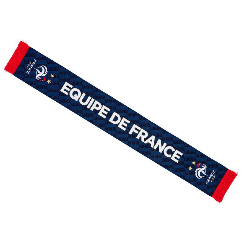 Echarpe FFF - Collection officielle EQUIPE DE France de Football Adulte
