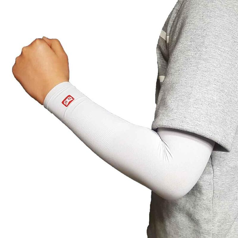 韓國製童裝壓力防曬手袖 灰色