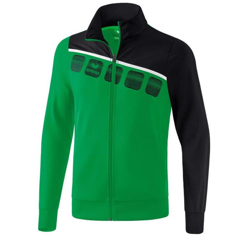Erima veste d'entraînement 5-C polyester vert/noir taille L