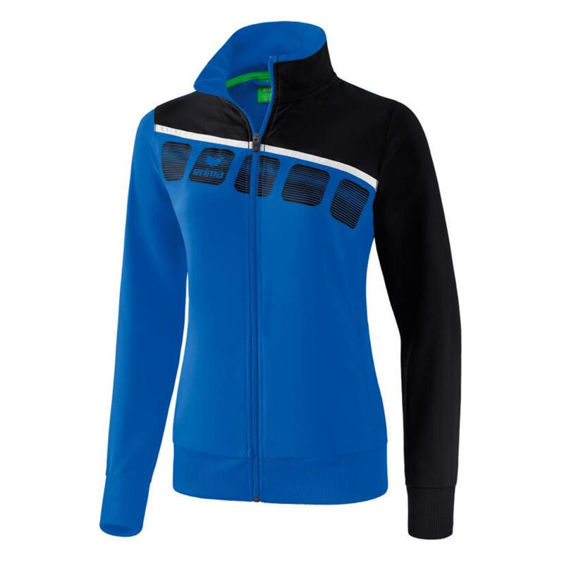 Erima veste de présentation 5-C dames polyester bleu foncé taille 46