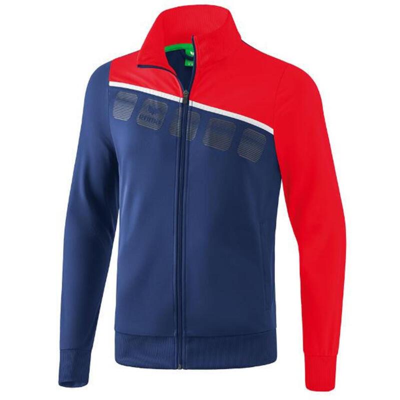 Erima veste en polyester 5-C mens navy/red taille XXL