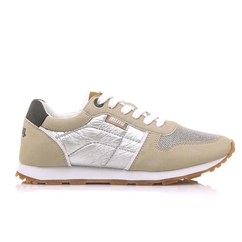 Sneaker Mujer MTNG EARTH beige