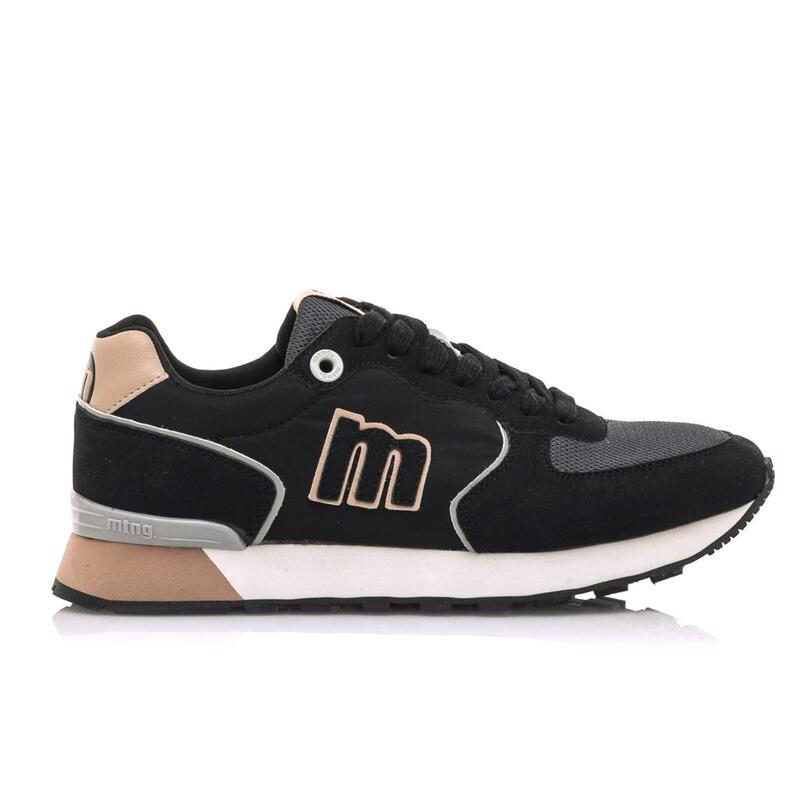 Sneaker Mujer MTNG JOGGO negro