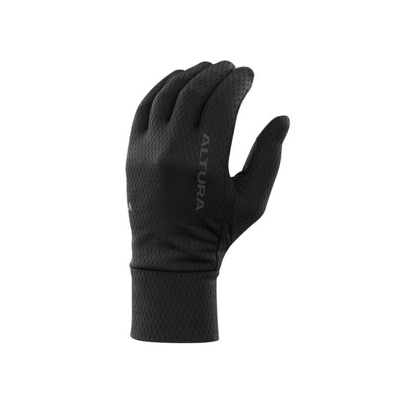Liner Glove Mens|Womens Road Black  Thermal