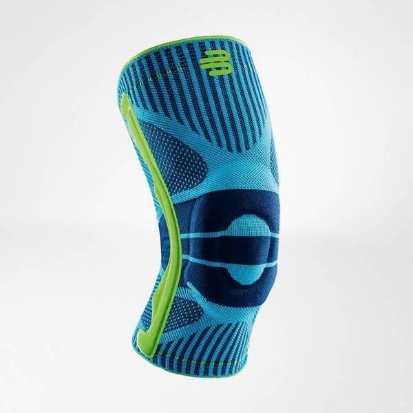 Bauerfeind Sports Knee Support - RIVERA BLUE