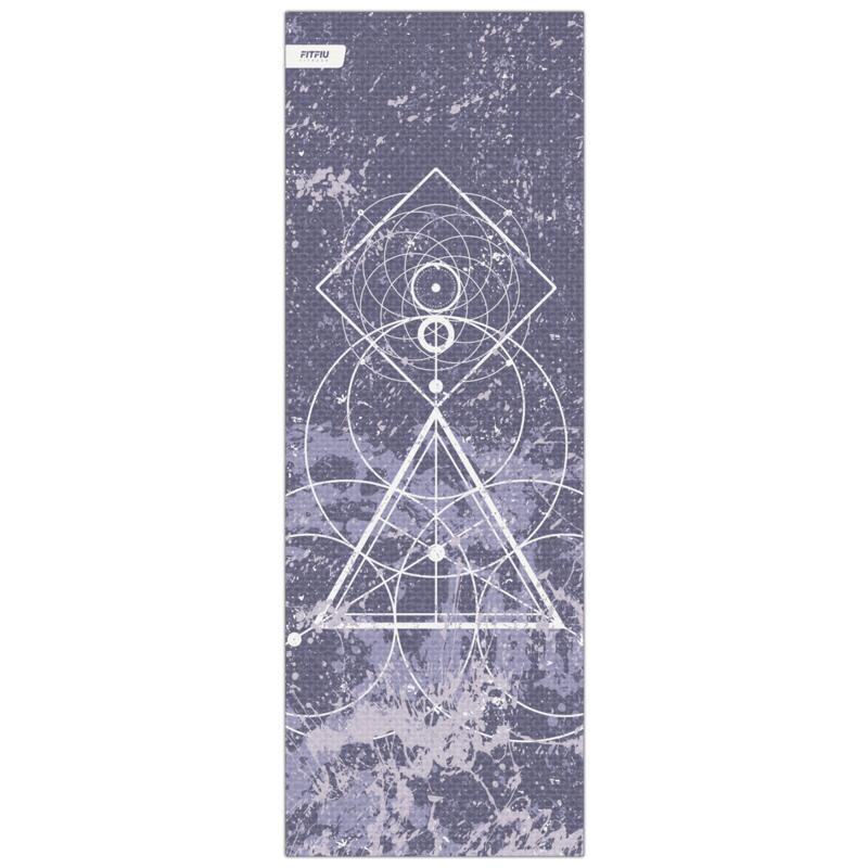 Tapis de yoga antidérapant MAT-E50 VIOLET