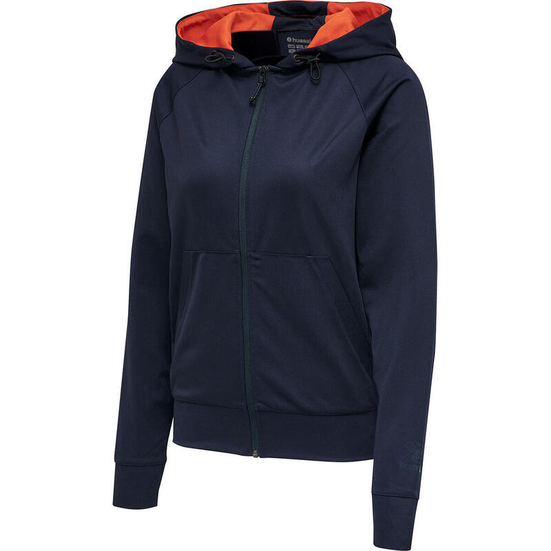 Sweatshirt à capuche femme Hummel hmlACTION zip