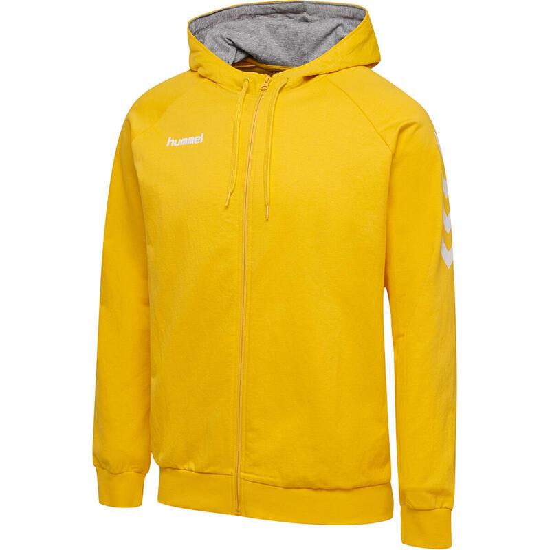 Sweatshirt zippé à capuche Hummel hmlGO cotton