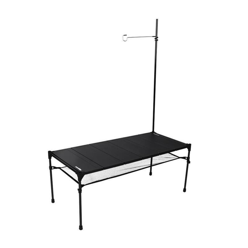 韓國戶外鋁摺枱Cube Table L6 黑色
