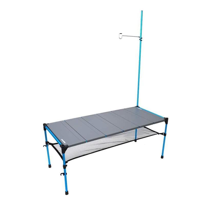 韓國戶外鋁摺枱Cube Table L6 灰色