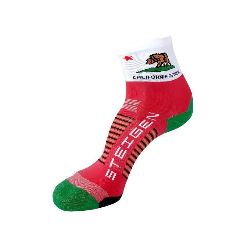 Steigen 1/2長度 加洲款 運動襪