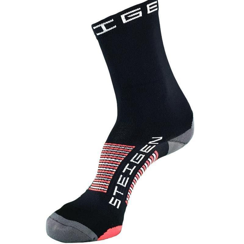 Steigen 3/4長度 黑色 運動襪