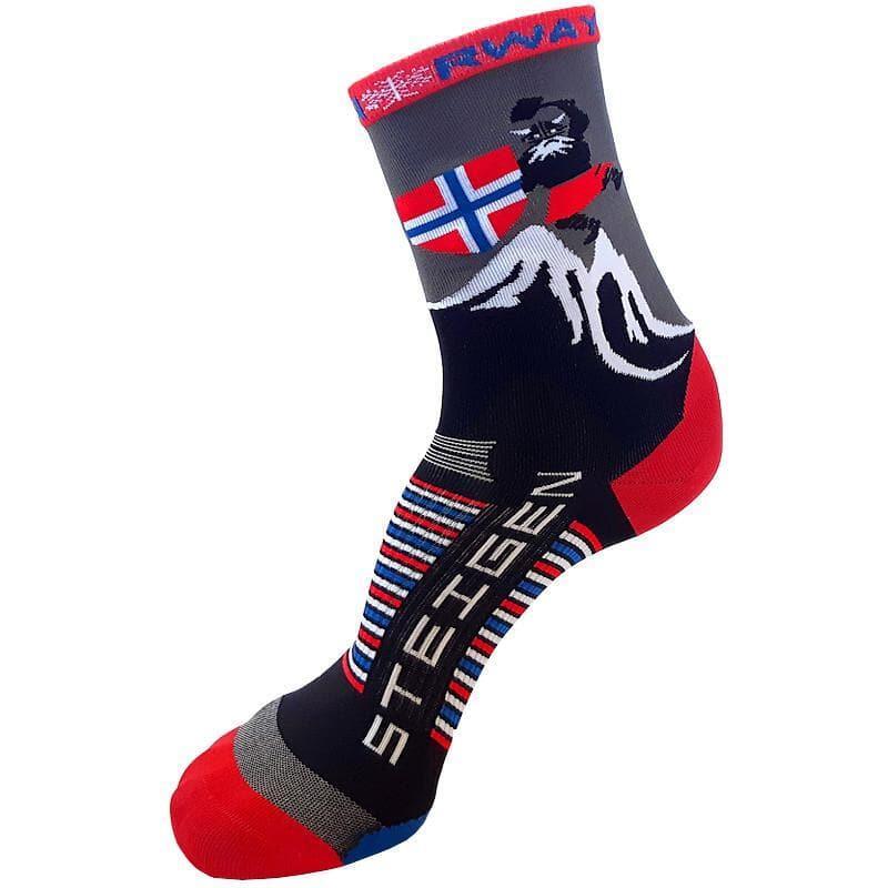 Steigen 3/4長度 挪威款 運動襪