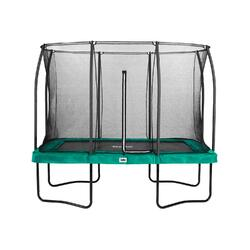 Trampoline Salta Comfort Edition avec Filet de Sécurité - 366 x 244 cm - Vert