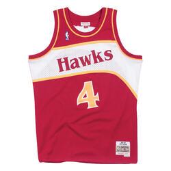 Swingman Jersey Atlanta Hawks Road 1986-87 Spud Webb
