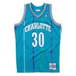 Swingman Jersey Charlotte Hornets Road 1992-93 Dell Curry
