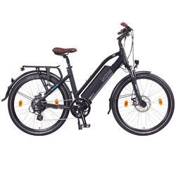 """Vélo électrique Trekking NCM Milano Noir - 26"""", 250W, batterie 48V 13Ah"""