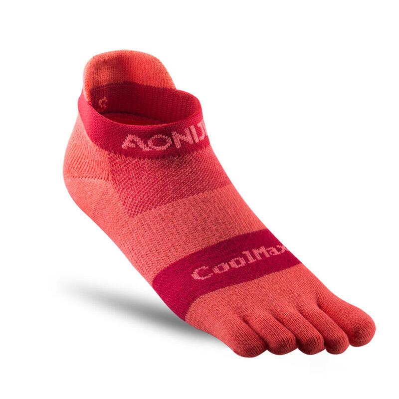 E4110 銀離子抗菌運動跑步五趾襪