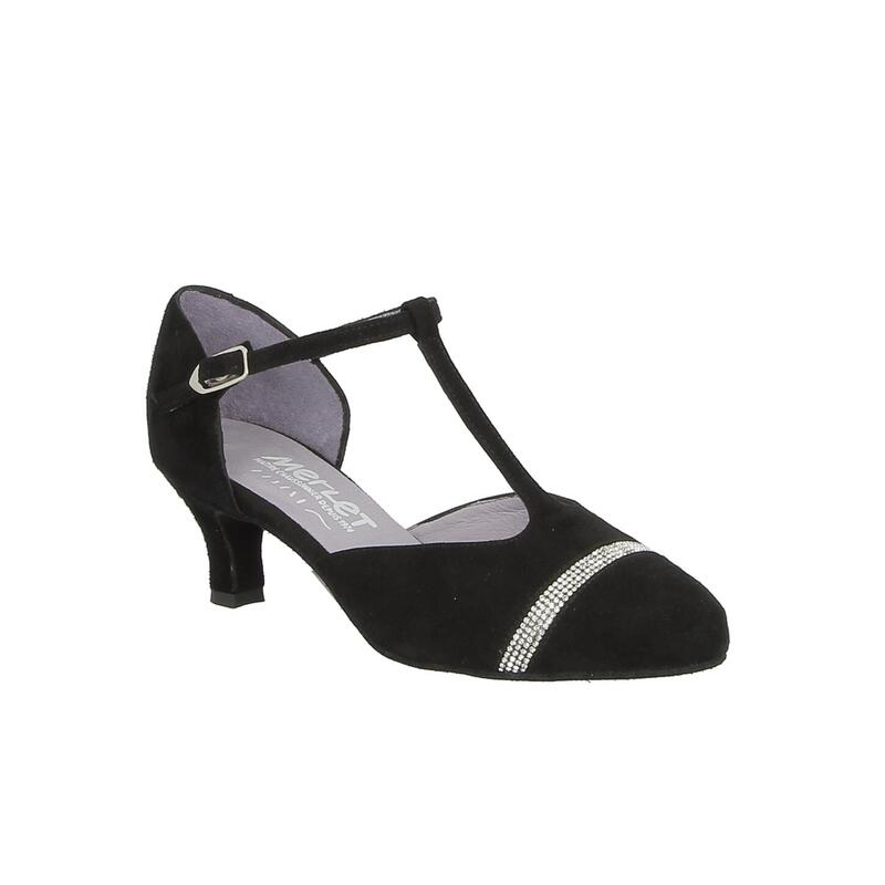 ADELO - chaussure de danse de salon avec lanière en T