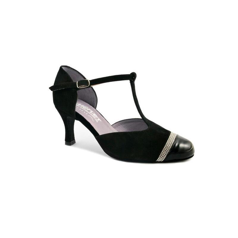 NABEL - chaussure de danse de salon insert diamanté