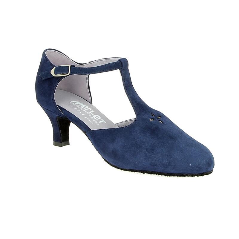 ADELIE - chaussure de danse de salon avec une bride en T