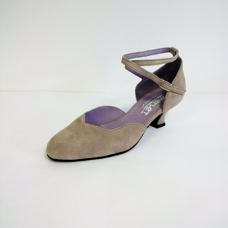 BADRAS - zapato de baile de salón con tiras cruzadas