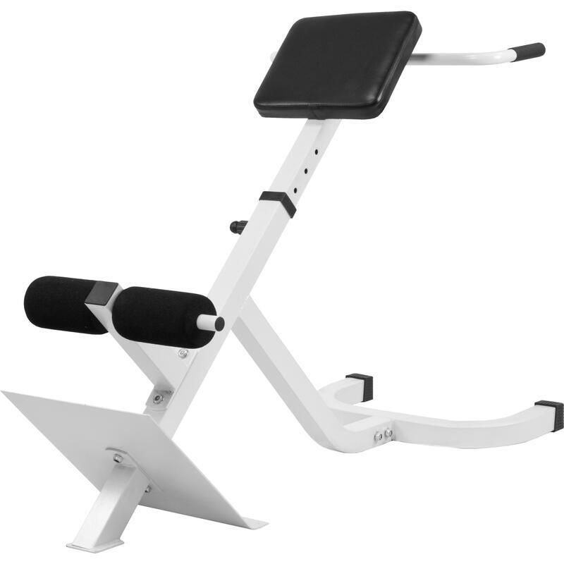 Appareil de musculation pour le dos - hyperextension incliné à 45° GS010