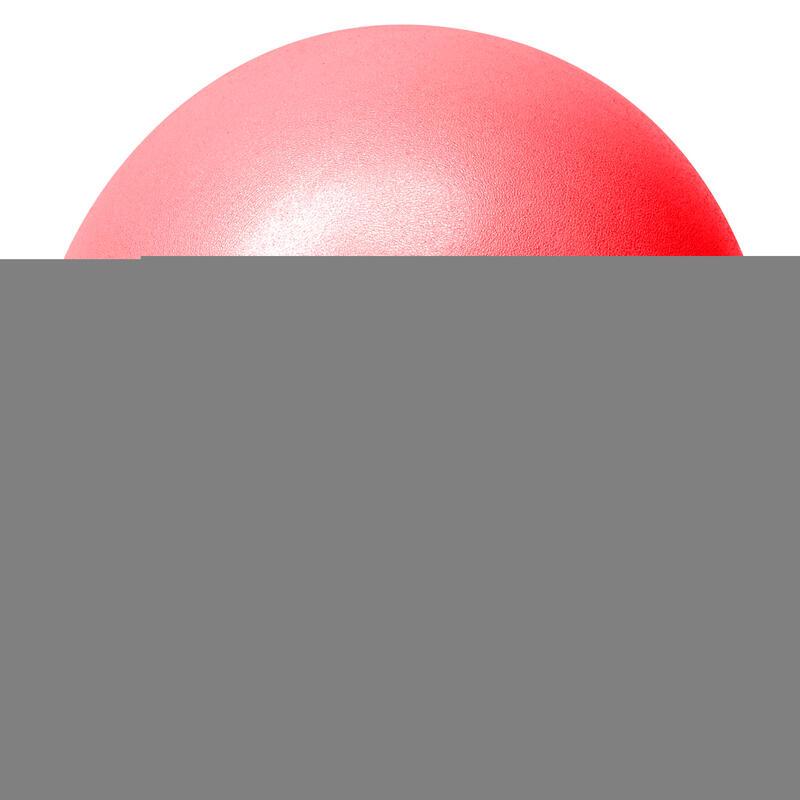 Mini-ballon d'exercice rouge, ballon léger de Pilates Soft Ball - Diamètre : 23
