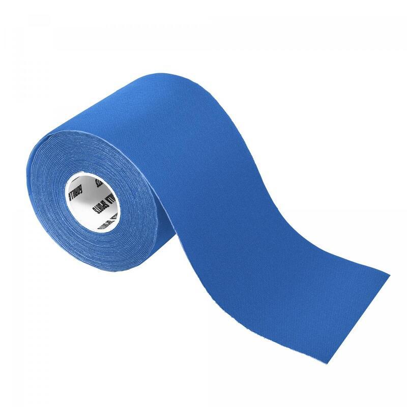 Bande de kinésiologie bleue océan - rouleau de 5 m -  Largeur : 7,5 cm