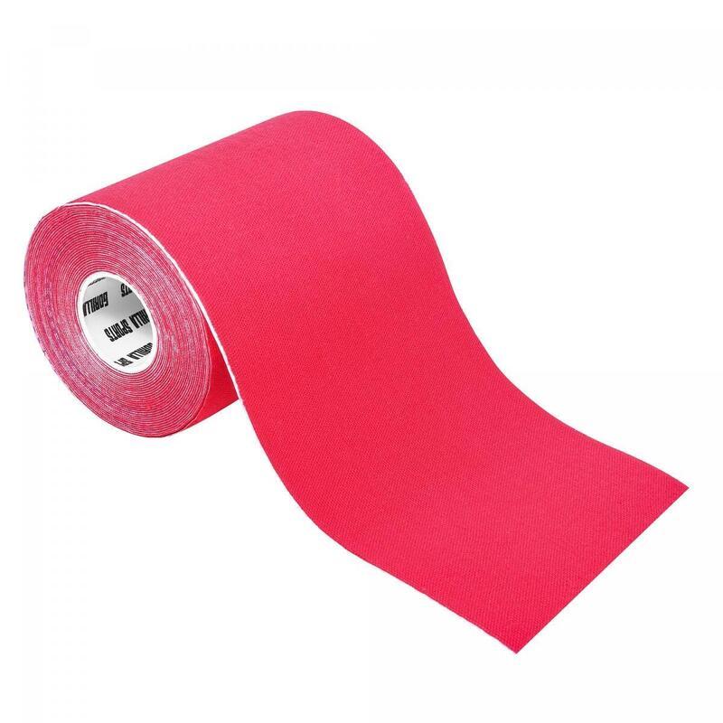 Bande de kinésiologie rouge - rouleau de 5 m -  Largeur : 10 cm