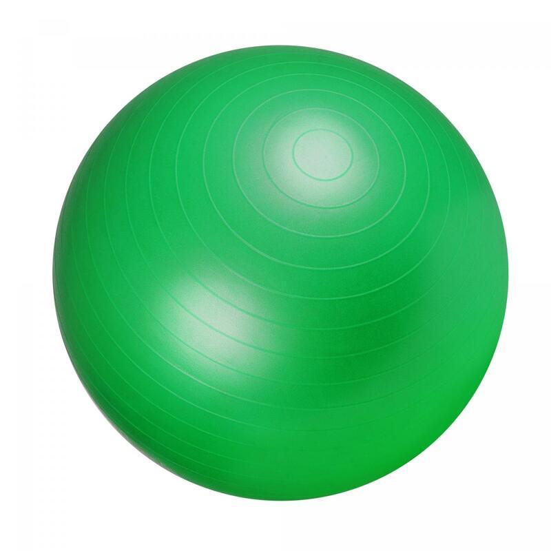 Ballon de gym vert - Swiss ball | Diamètre : 65cm
