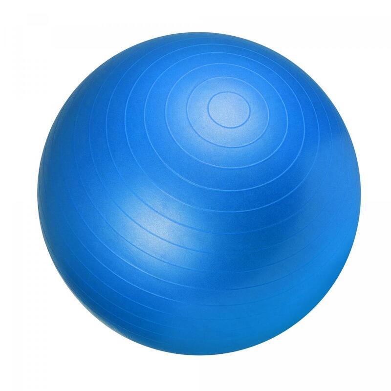 Ballon de gym bleu - Swiss ball | Diamètre : 75cm