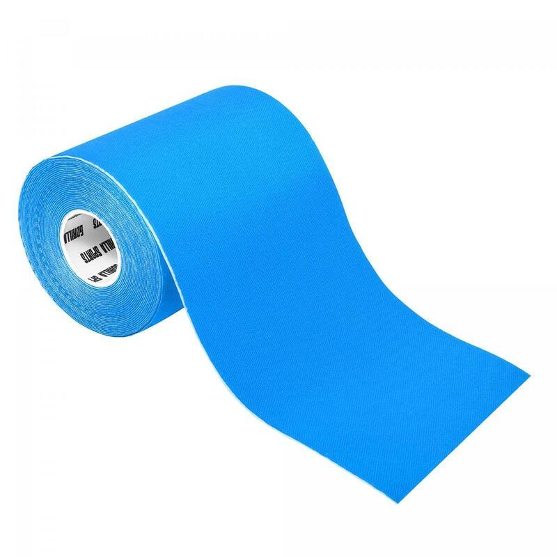 Bande de kinésiologie bleue pétrole - rouleau de 5 m -  Largeur : 10 cm
