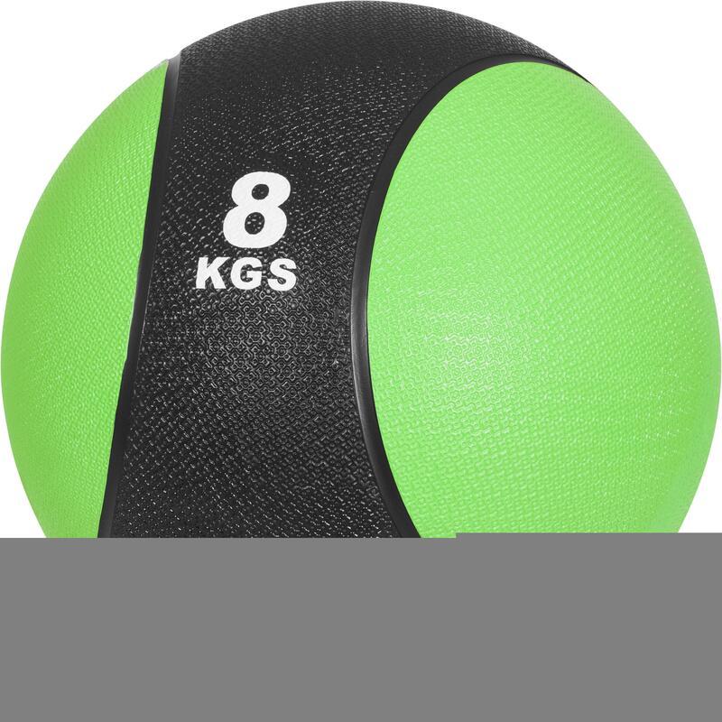 Médecine balls en caoutchouc - De 1 à 10 KG