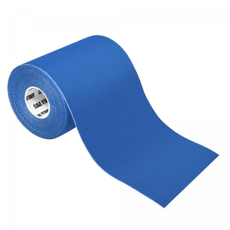 Bande de kinésiologie bleue océan - rouleau de 5 m -  Largeur : 10 cm