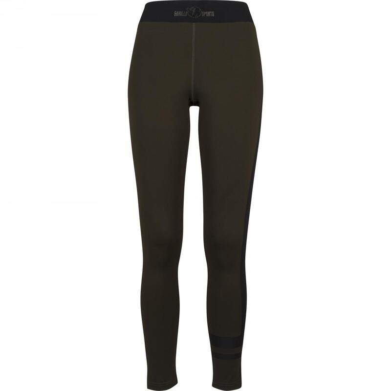 Le Fitness Leggings Noir/Rose ou Noir/Olive XS à XL