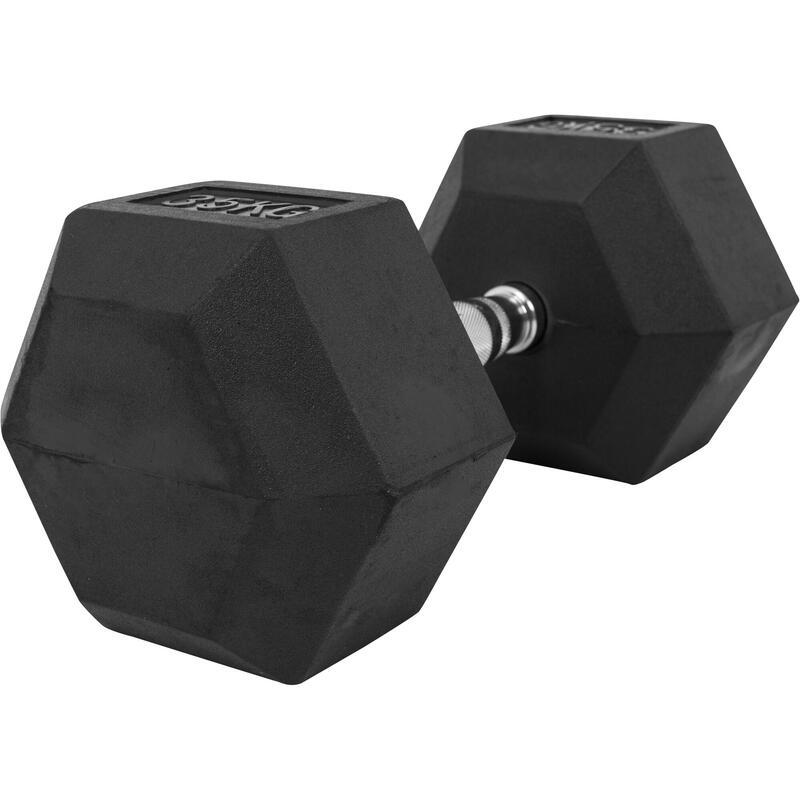 Haltères hexagonaux PRO - De 2 à 50 KG