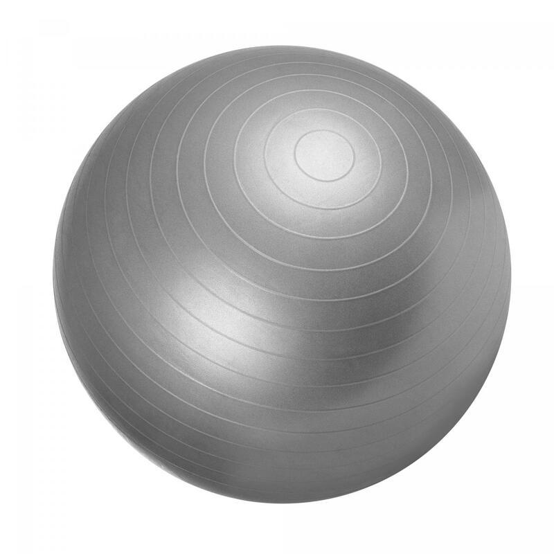 Ballon de gym gris - Swiss ball   Diamètre : 55cm