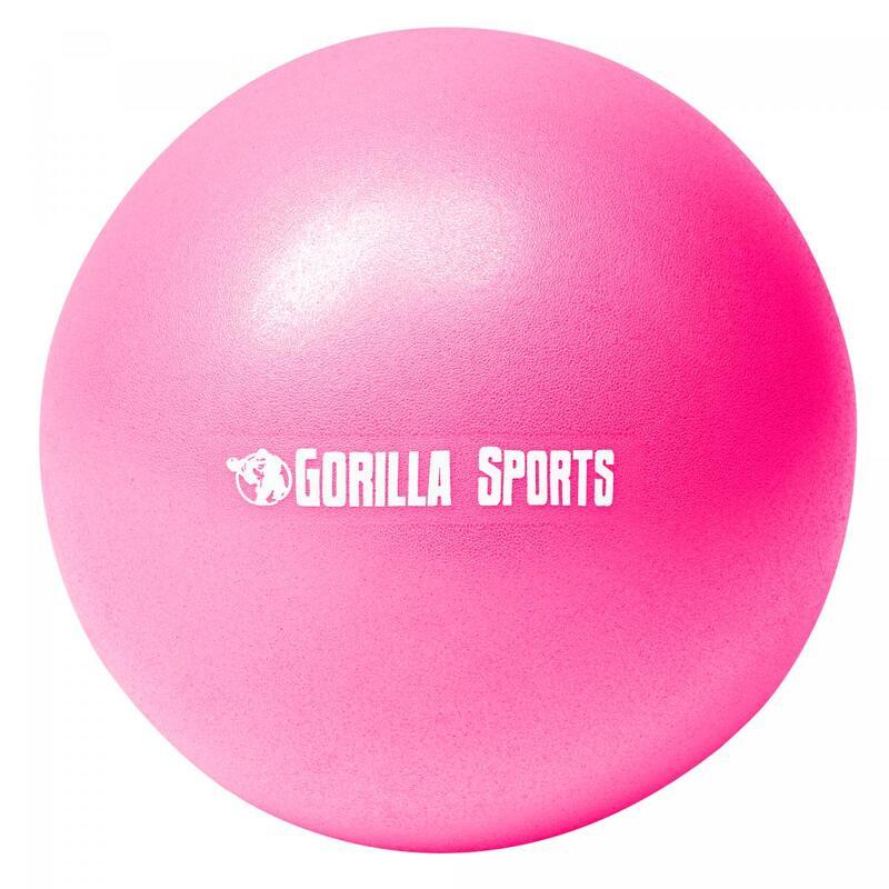 Mini-ballon d'exercice rose, ballon léger de Pilates Soft Ball - Diamètre : 18 c