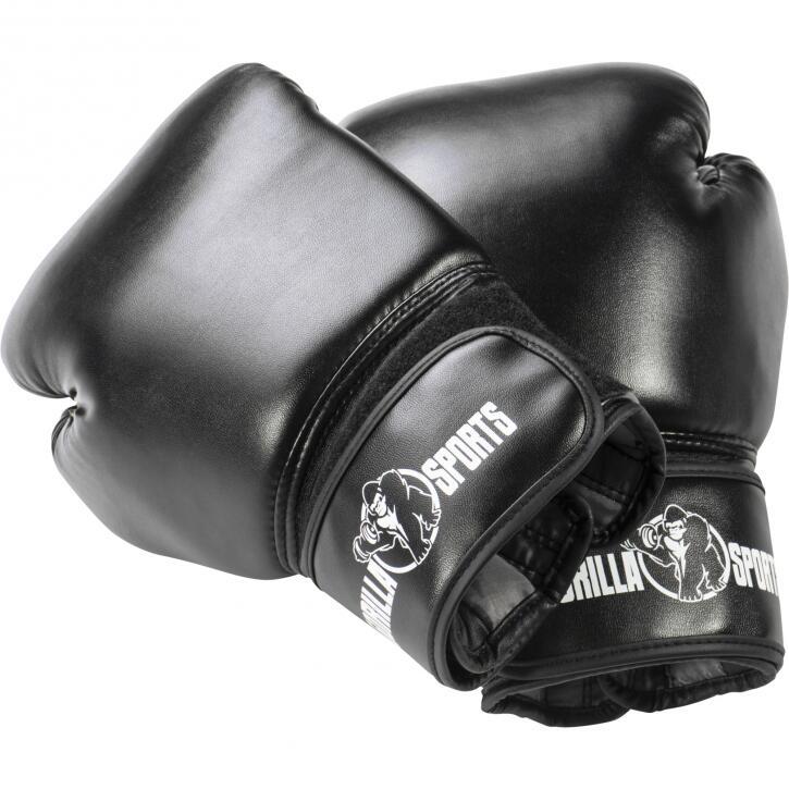 Gants de boxe professionnels coloris noir 10 Oz – 16 Oz