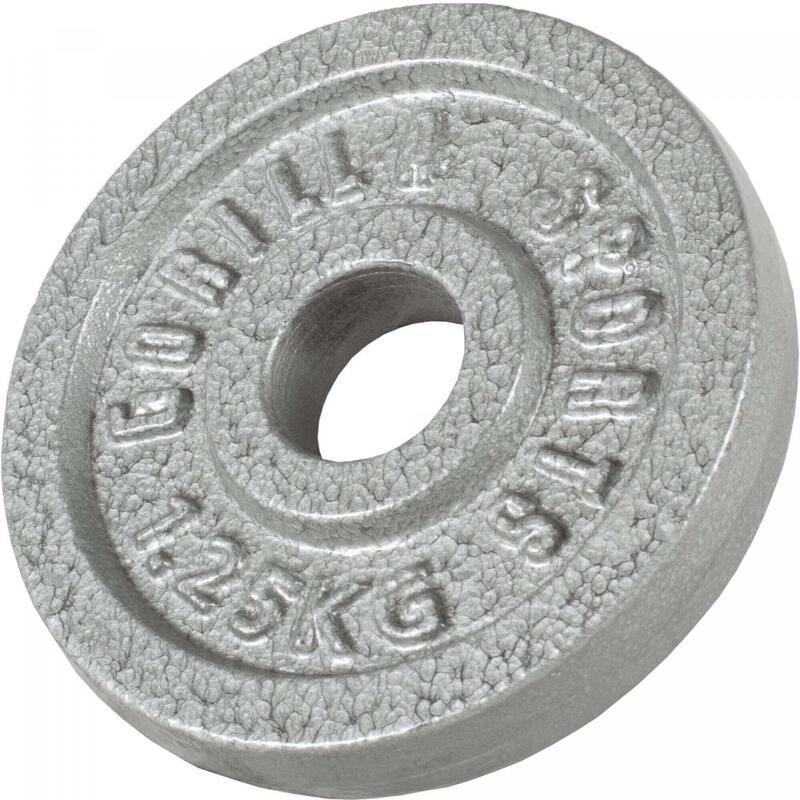 Disques de poids en fonte gris - De 0,5 KG à 30 KG