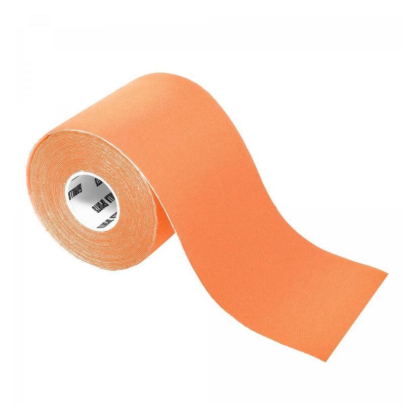 Bande de kinésiologie orange - rouleau de 5 m -  Largeur : 10 cm