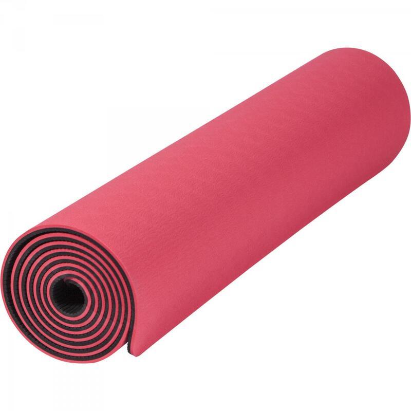 Tapis de Yoga - pilates - en TPE - double face bicolor de 180cm x 60cm x 0,6cm
