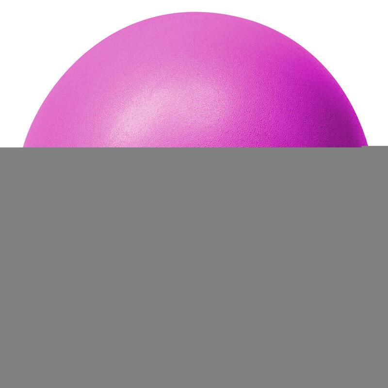 Mini-ballon d'exercice violet, ballon léger de Pilates Soft Ball - Diamètre : 23