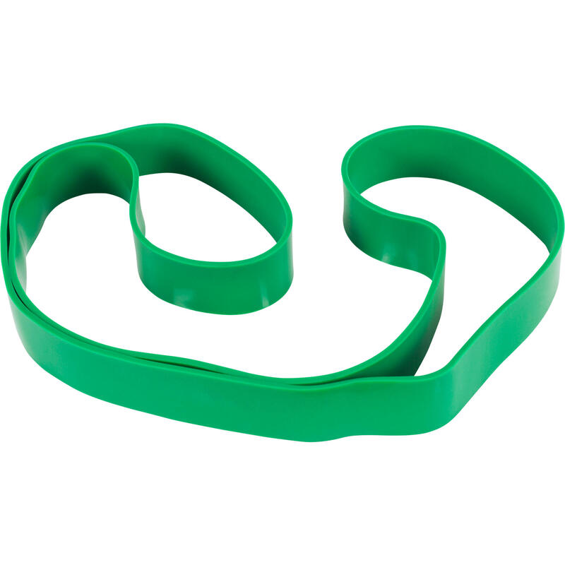 Bande de résistance élastique - 2080 x 4,5 x 45mm - vert 50-120LBS