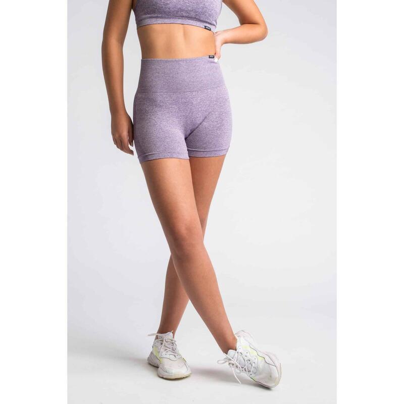 Pulse Seamless Short Fitness - Femme - Lila