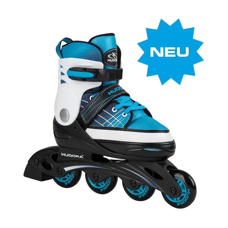 Verstelbare Inline Skates Basic, Blauw, Maat 34-37