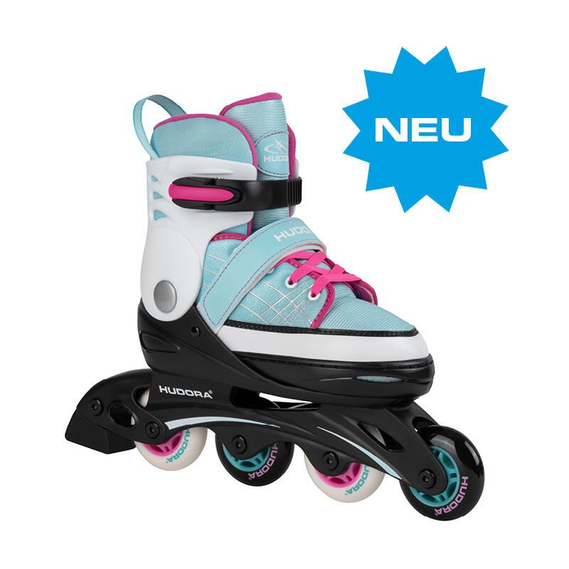 Verstelbare Inline Skates Basic, Mint, Maat 34-37